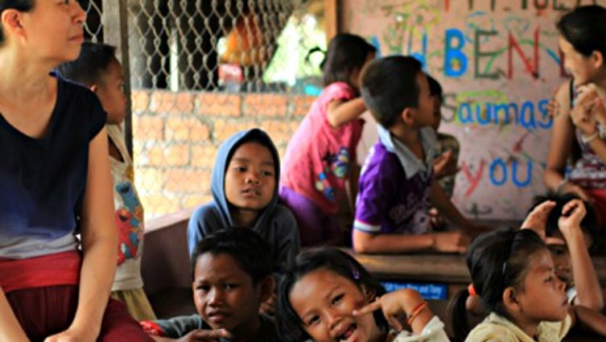 An orphanage in Siem Reap