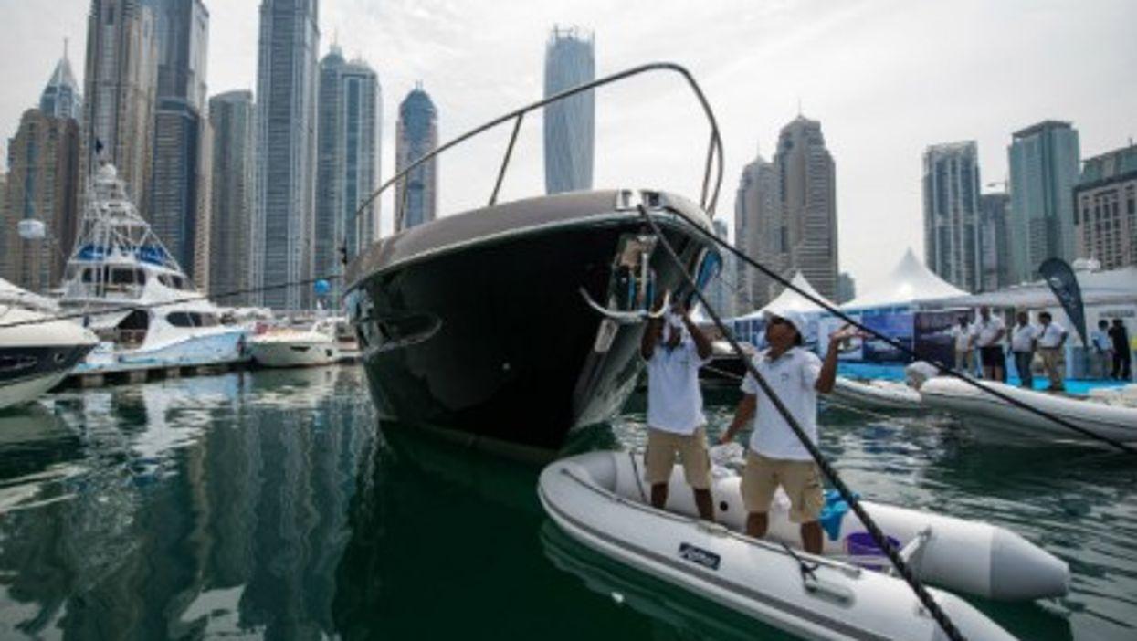 Anchoring in Dubai?