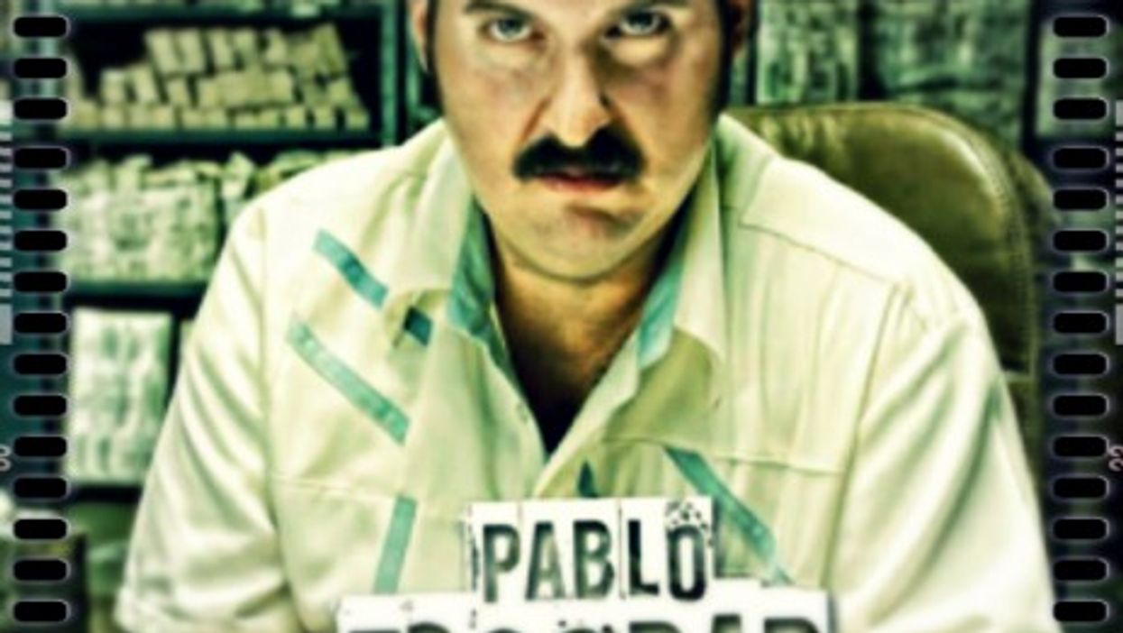"""Andres Parra in """"Escobar, the Boss of Evil"""""""