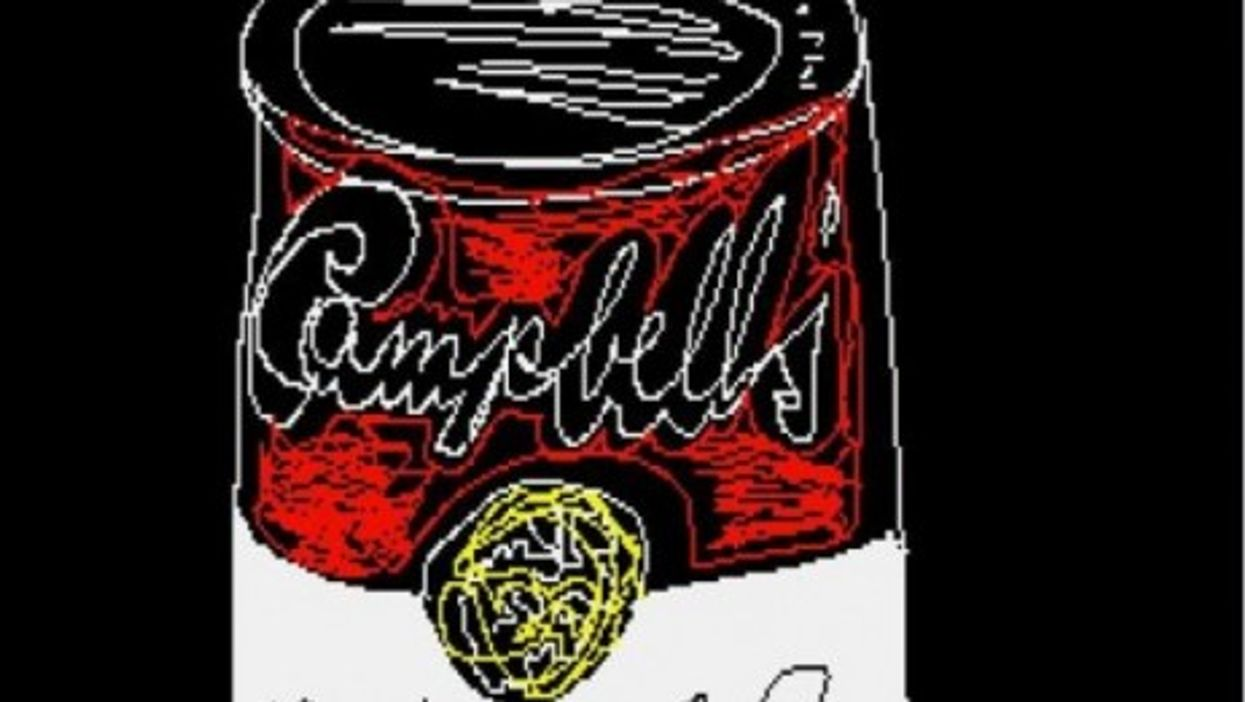 """Andy Warhol's """"digital art"""" uncovered after 30 years"""
