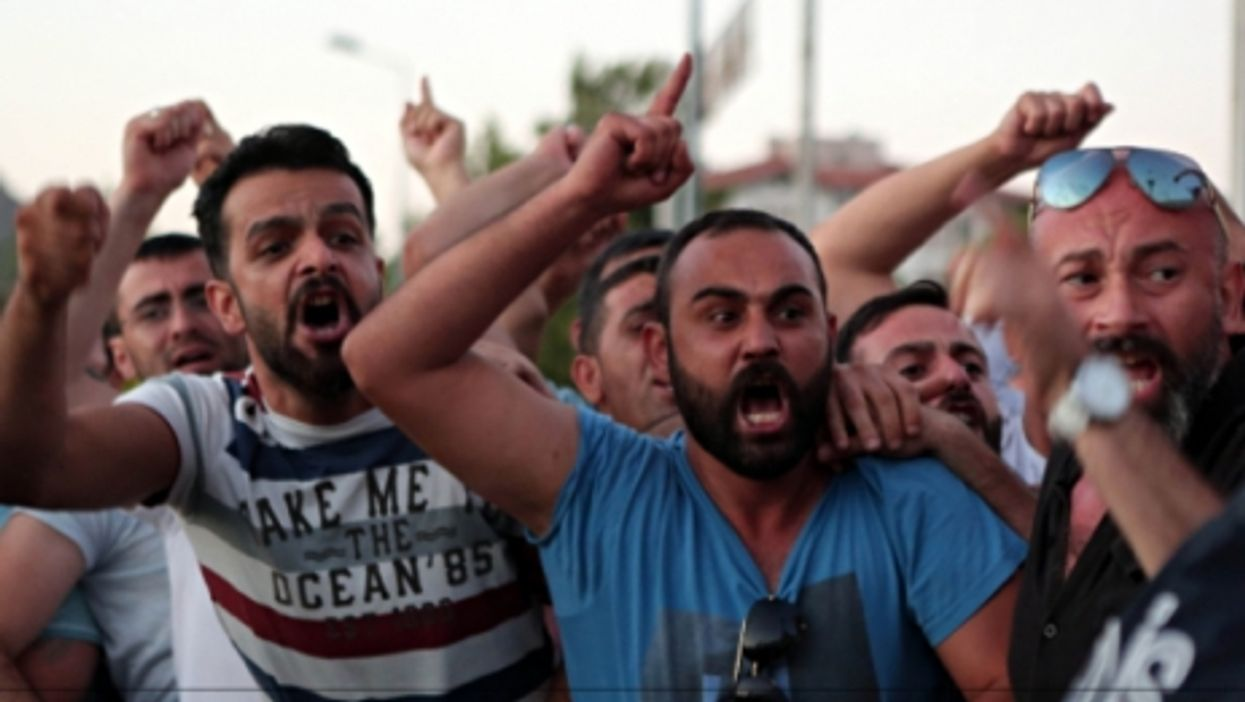 Anger on the streets of Istanbul