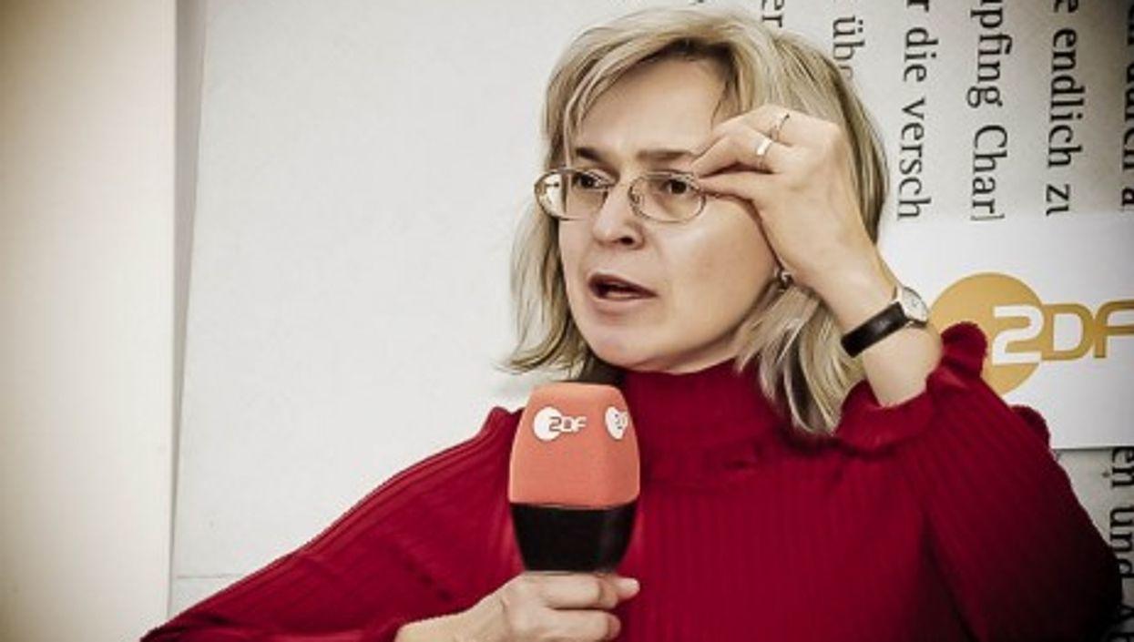 Anna Politkovskaya a year before her death