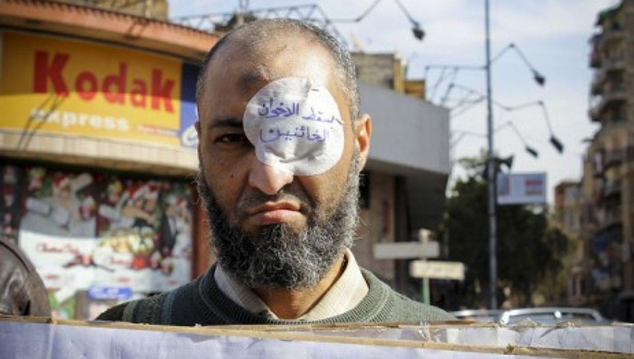 Anti-Brotherhood protester
