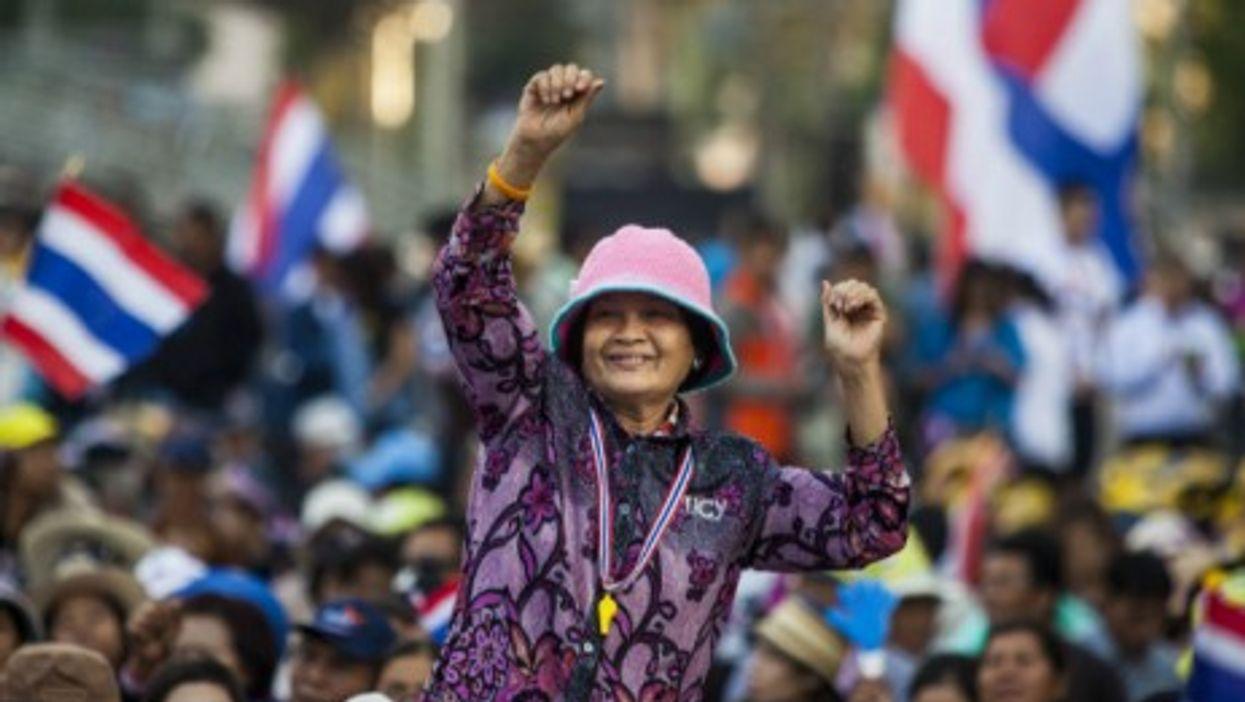 Anti-government rally Monday in Bangkok