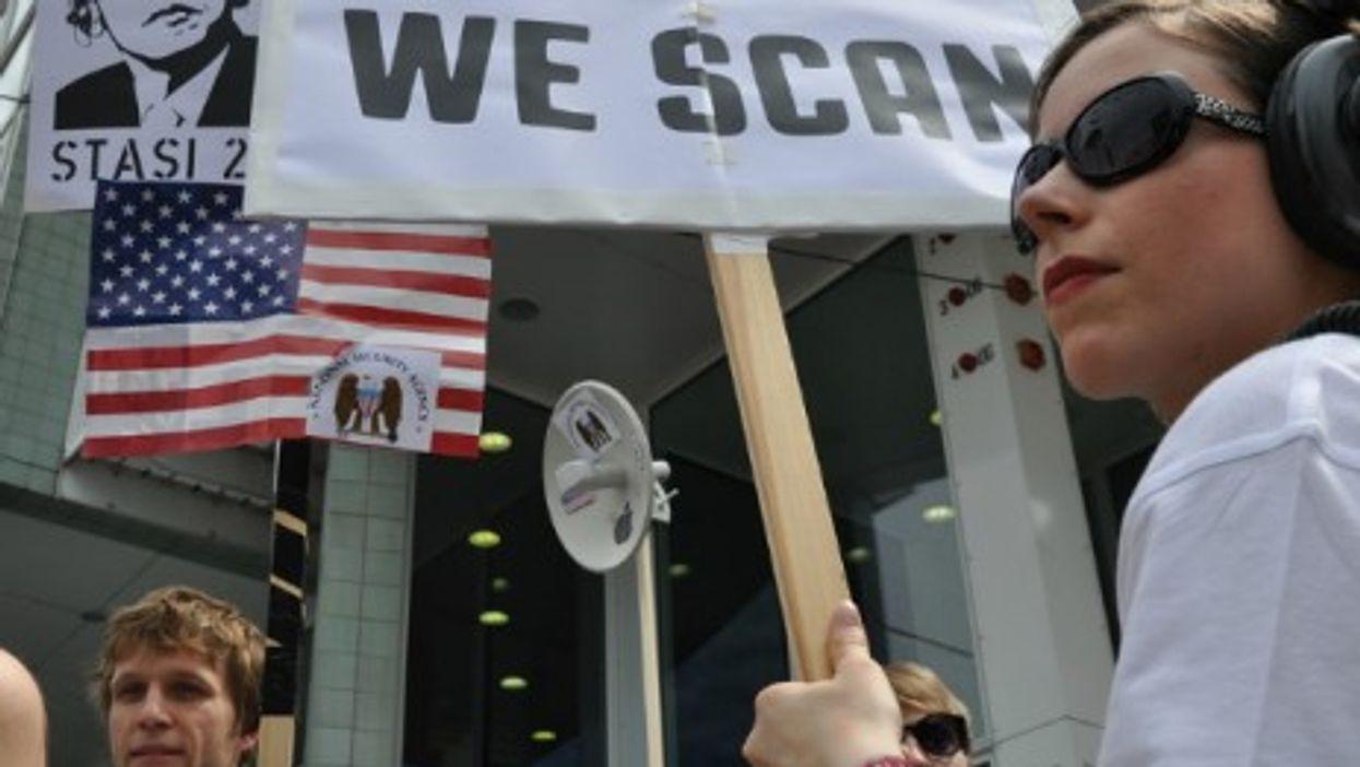 Anti-NSA protests in Berlin