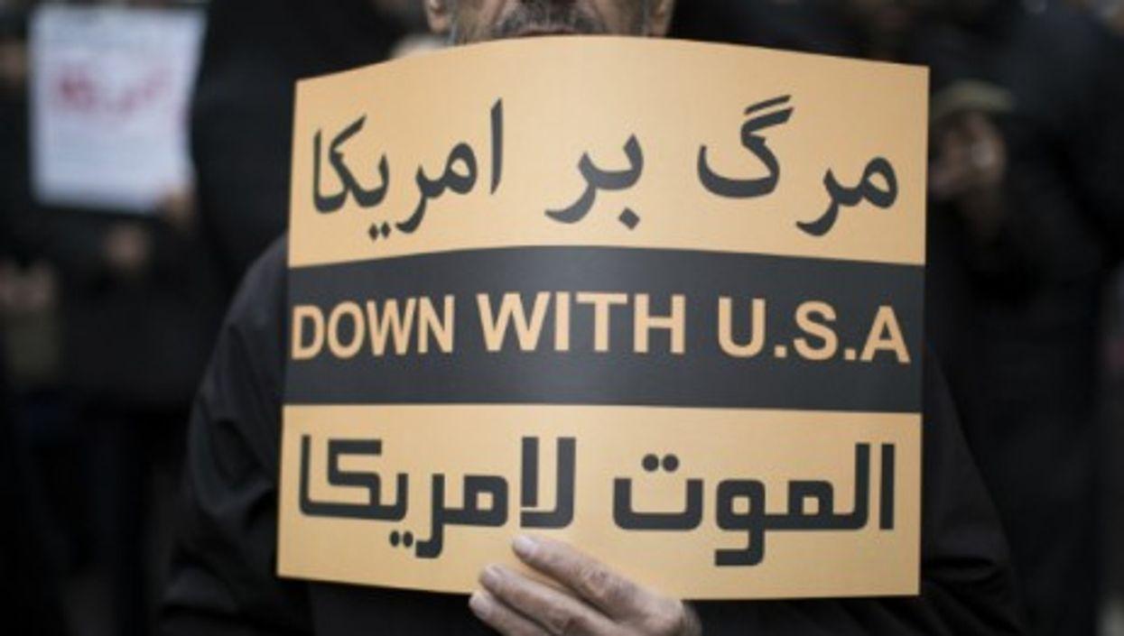 Anti-U.S. rally in Tehran