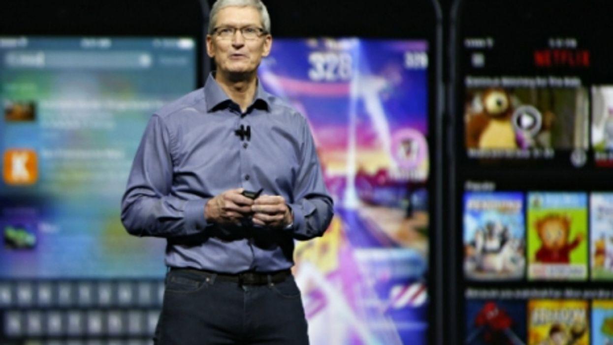 Apple CEO Tim Cook in San Francisco last September