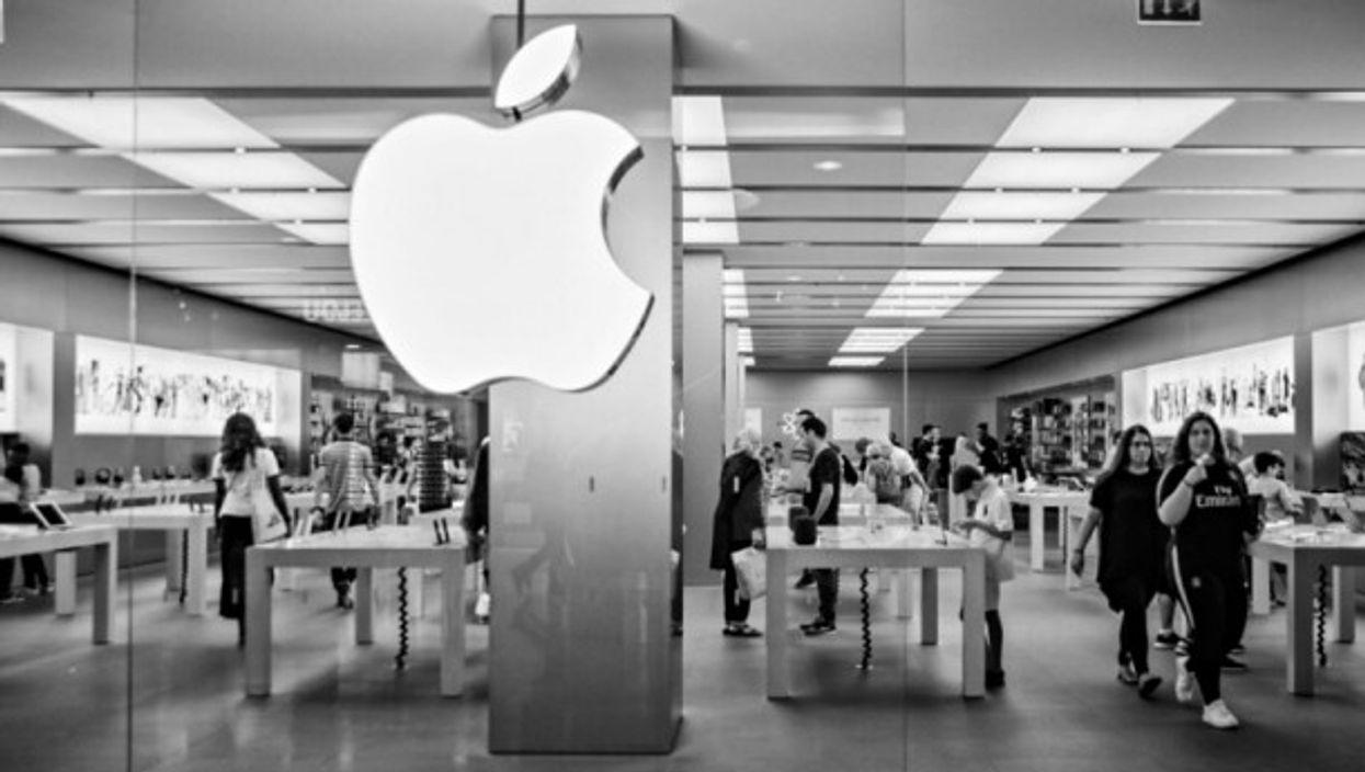 Apple store in Paris