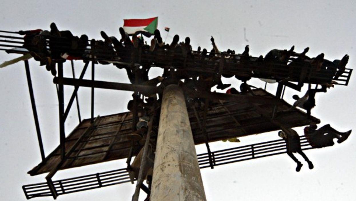 April 25 protests in Khartoum