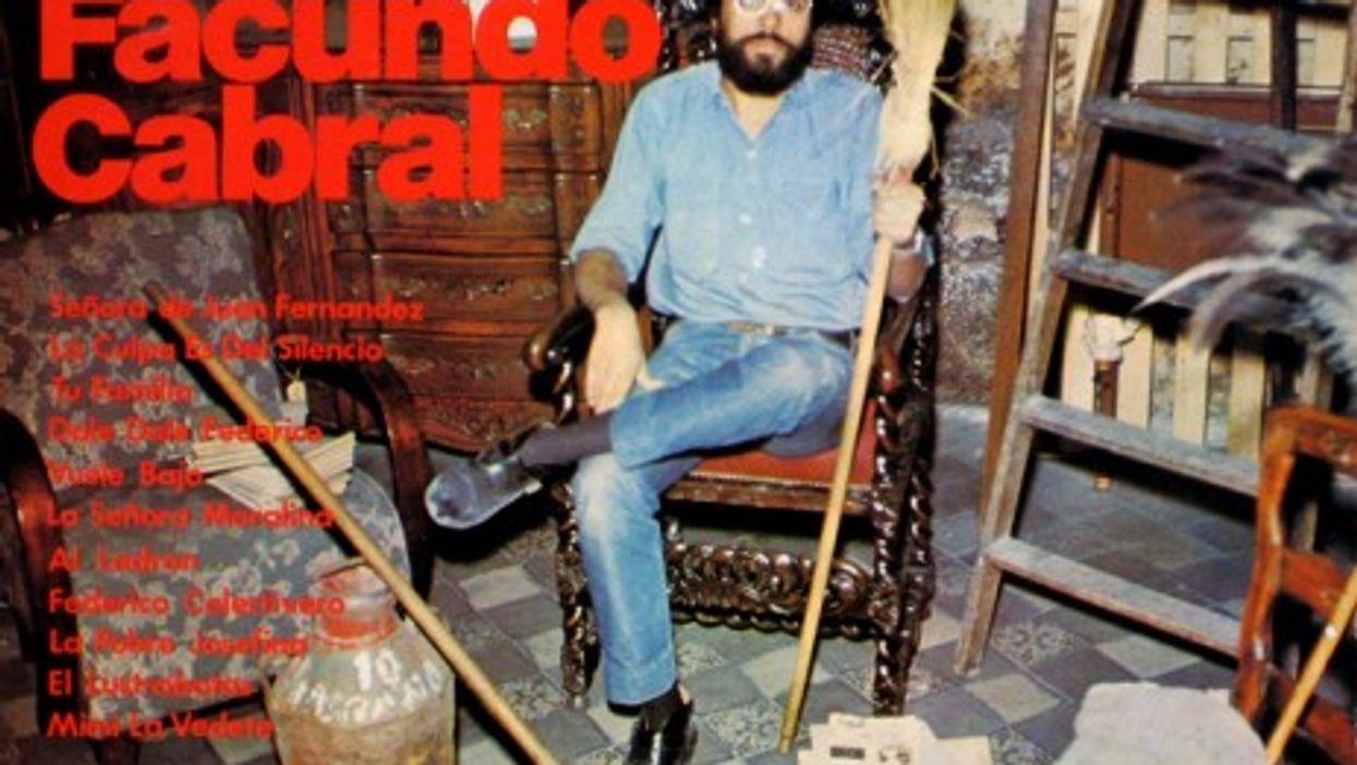 Argentina folk singer Facundo Cabral (1937-2011)