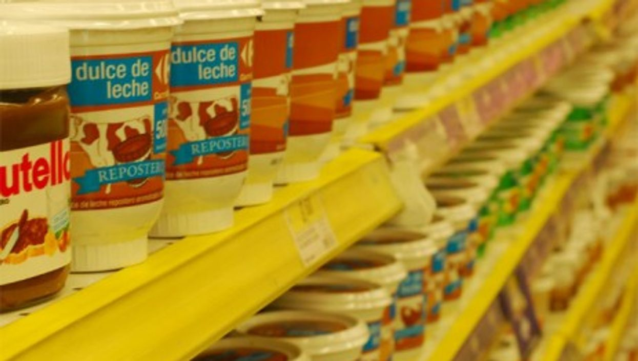 Argentina produced a record 131,000 tons of dulce de leche in 2010