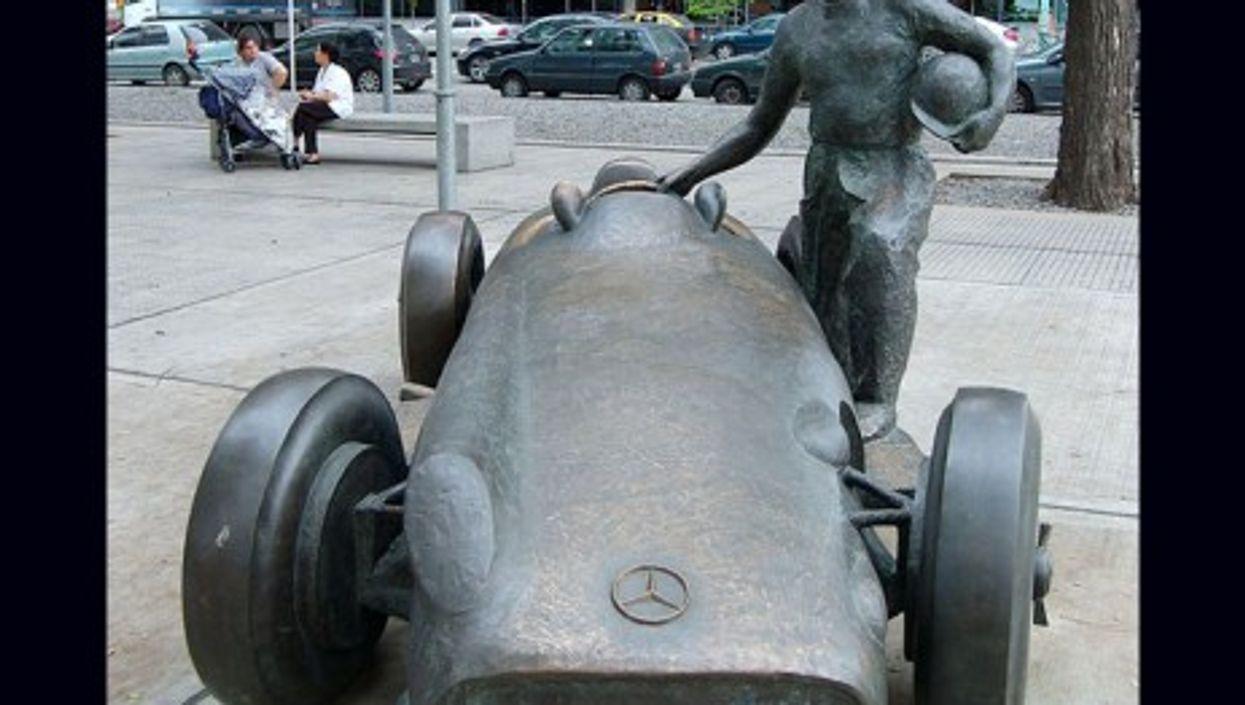 Argentina's fast and furious F1 legend, Juan Manuel Fangio (Beatrice Murch)