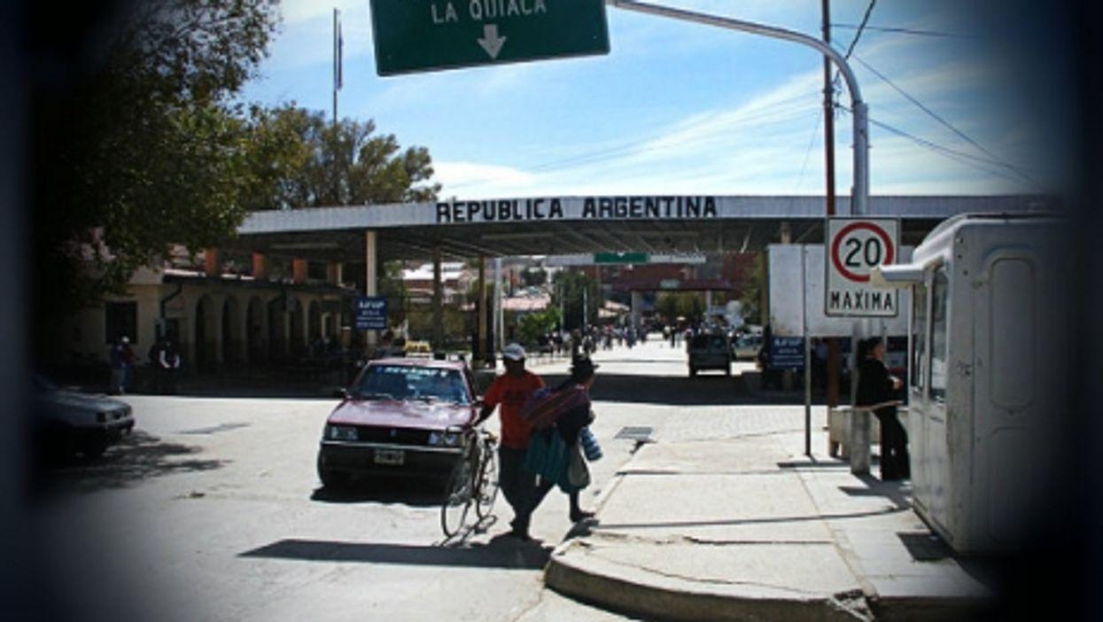 Argentine-Bolivian border
