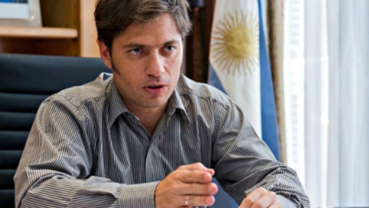 "Argentine Finance Minister Axel Kiciloff, a.k.a. ""Kicilove,"" a.k.a. the ""Minister of Love"""