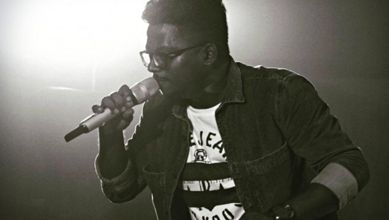 Arivu on stage