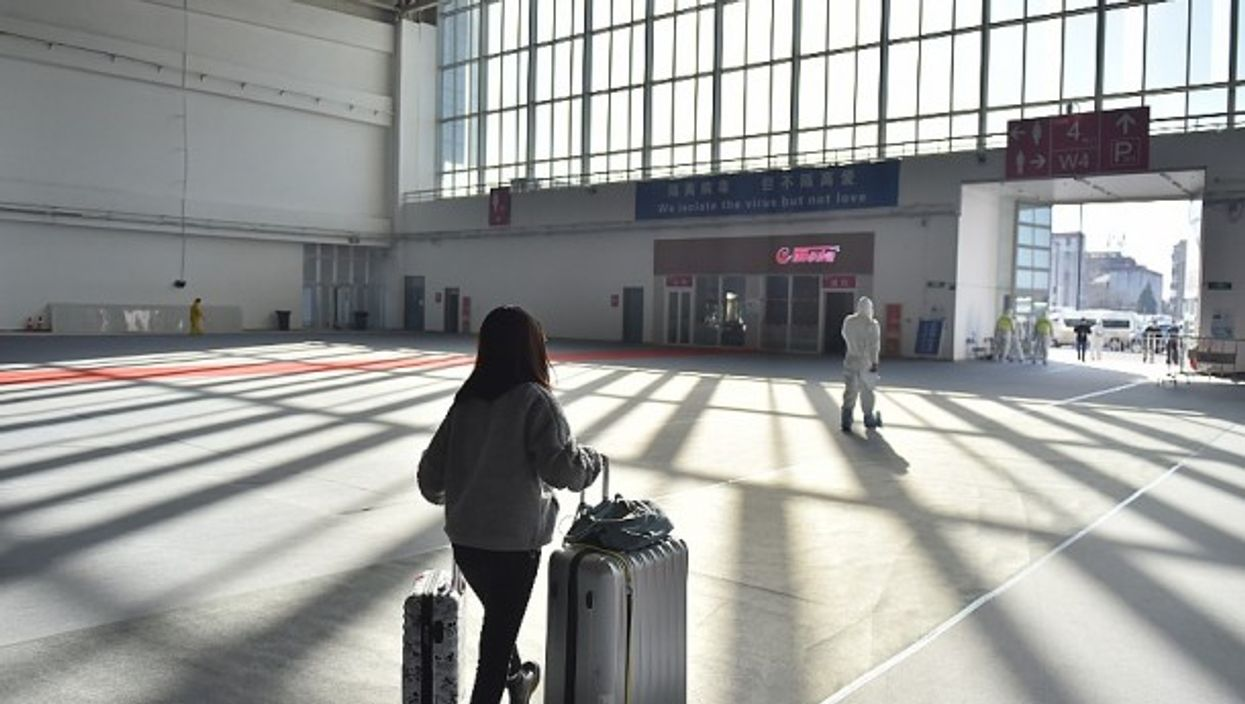 Arriving in Beijing on March 17