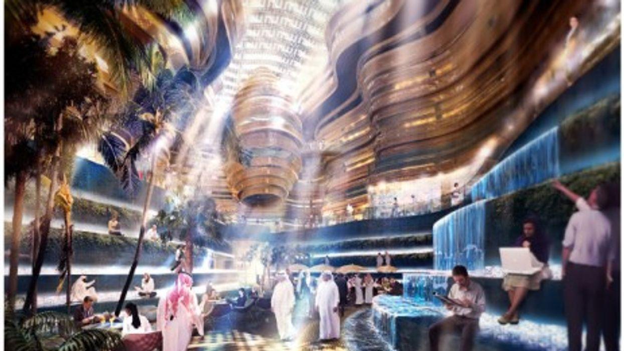 Artistic rendering of Masdar City