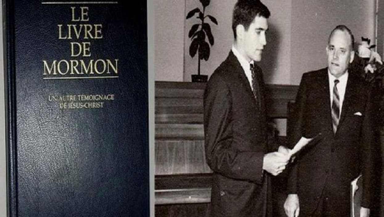 As a young man, Mitt Romney spent time in France as a Mormon missionary (Wikimedia/xtimeline)