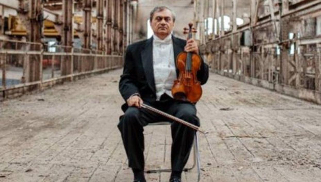 Ashot Tigranyan, conductor and violonist