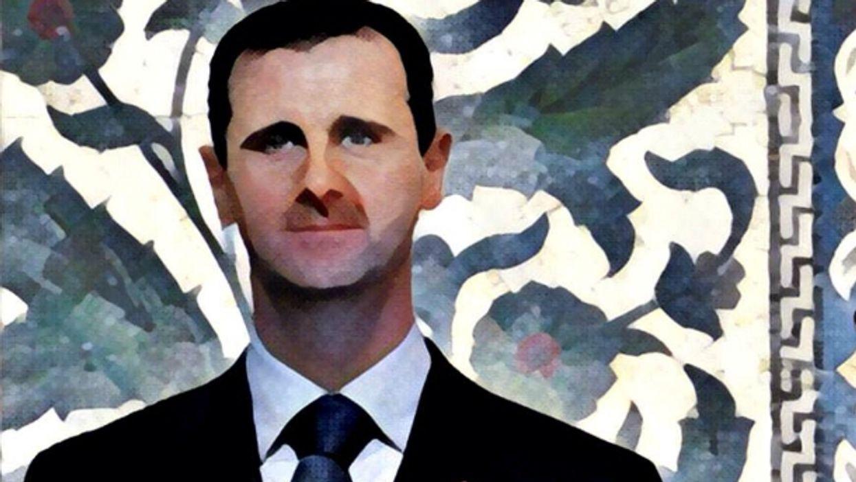 Assad's flowery rhetoric
