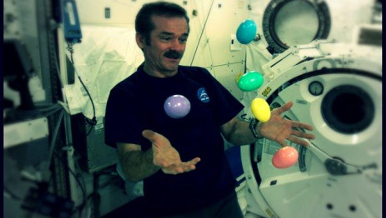 Astronaut -- and YouTube star -- Chris Hadfield