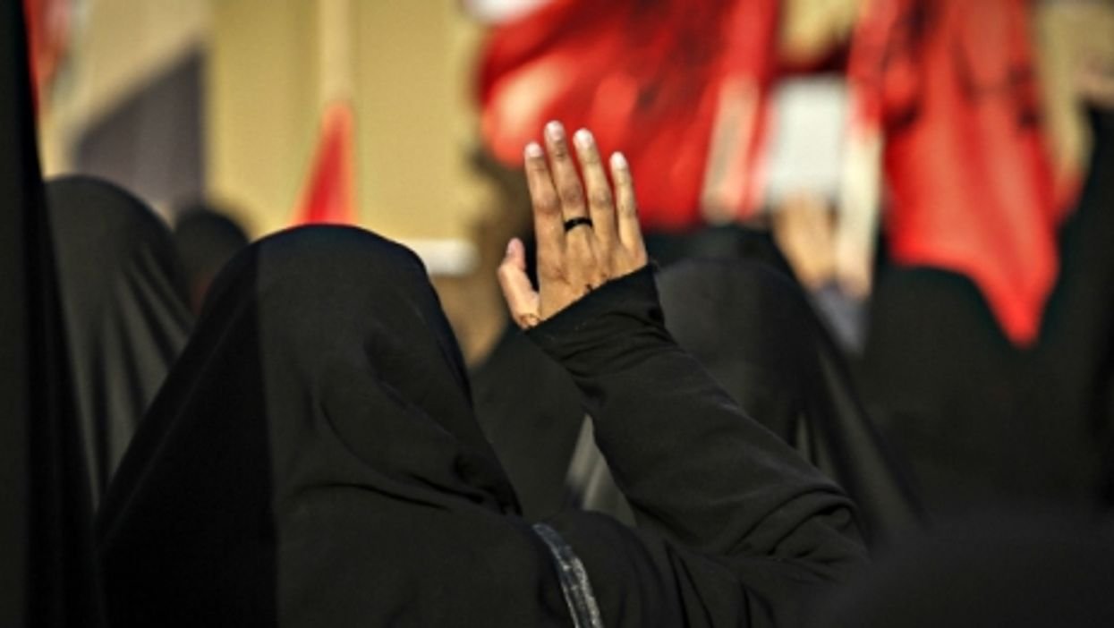 At a Jan.4 demonstration against Saudi Arabia in Tehran