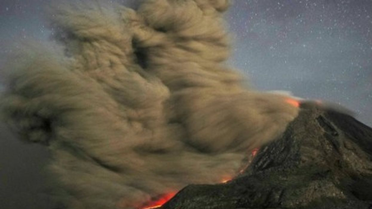At least 50 people have been killed over the past two weeks after Indonesia's Mount Sinabung volcano erupted four separate times.