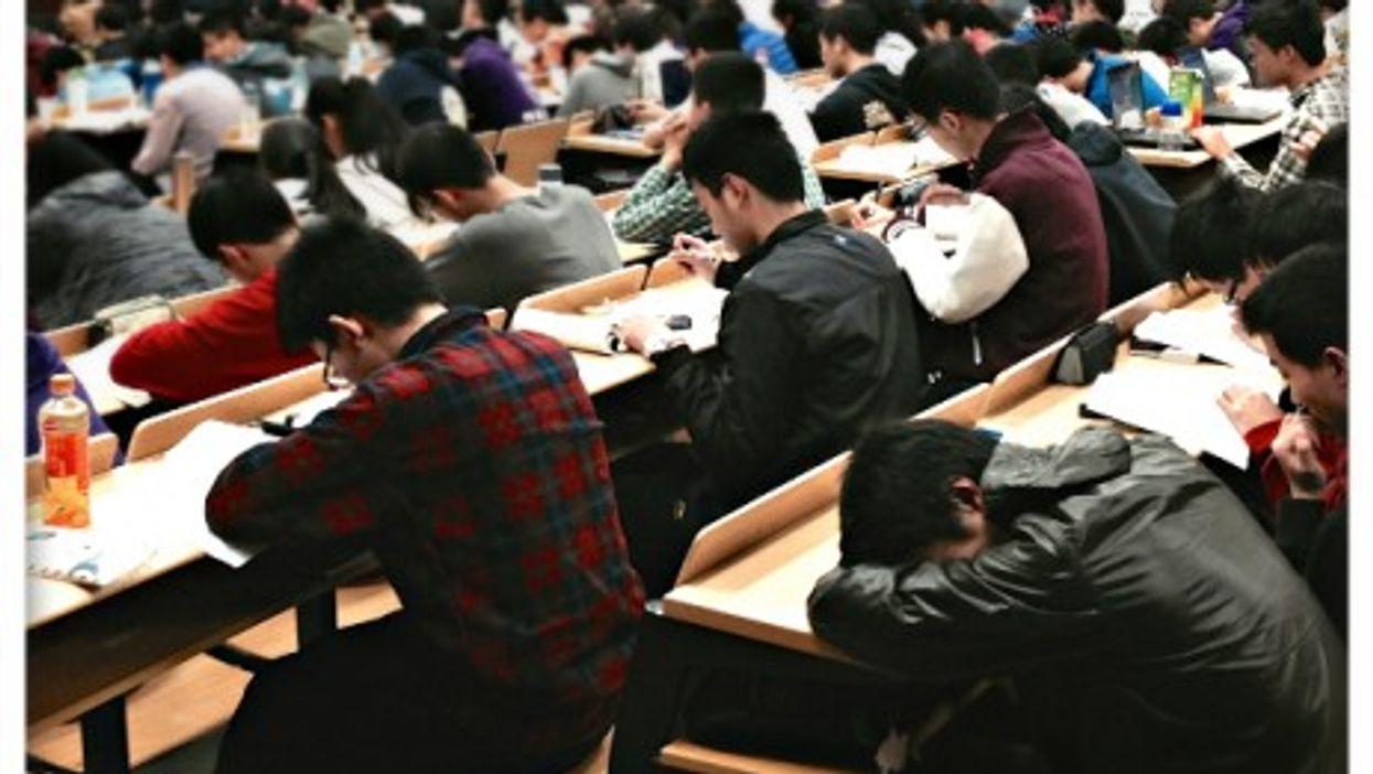 At Nanjing university