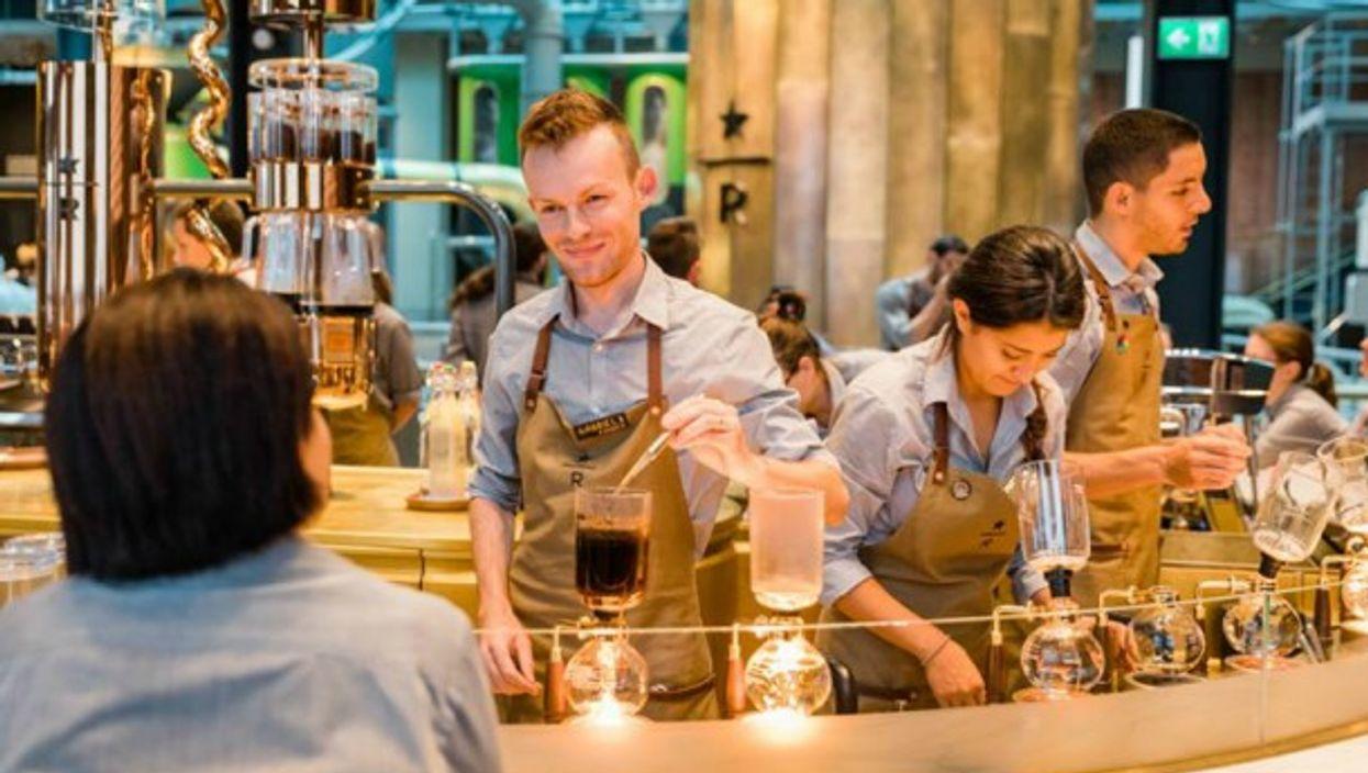 At Starbucks' new Milano 'roastery'