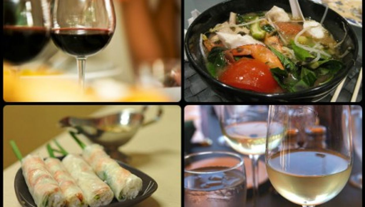 """""""At Tan Dinh, dishes and wines mutually complement the other"""" — Photo: Julia Rosien/Jason Hutchens/Amrufm/Jon Sullivan"""