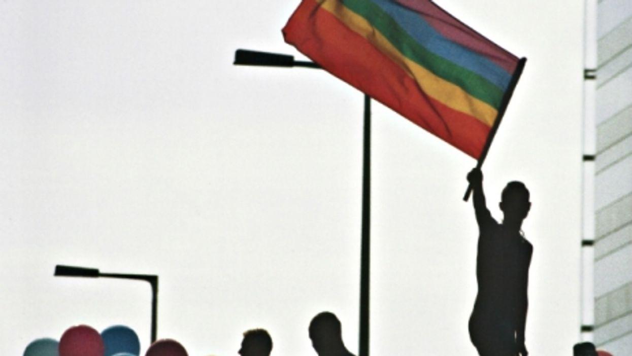 At the Berlin Gay Pride