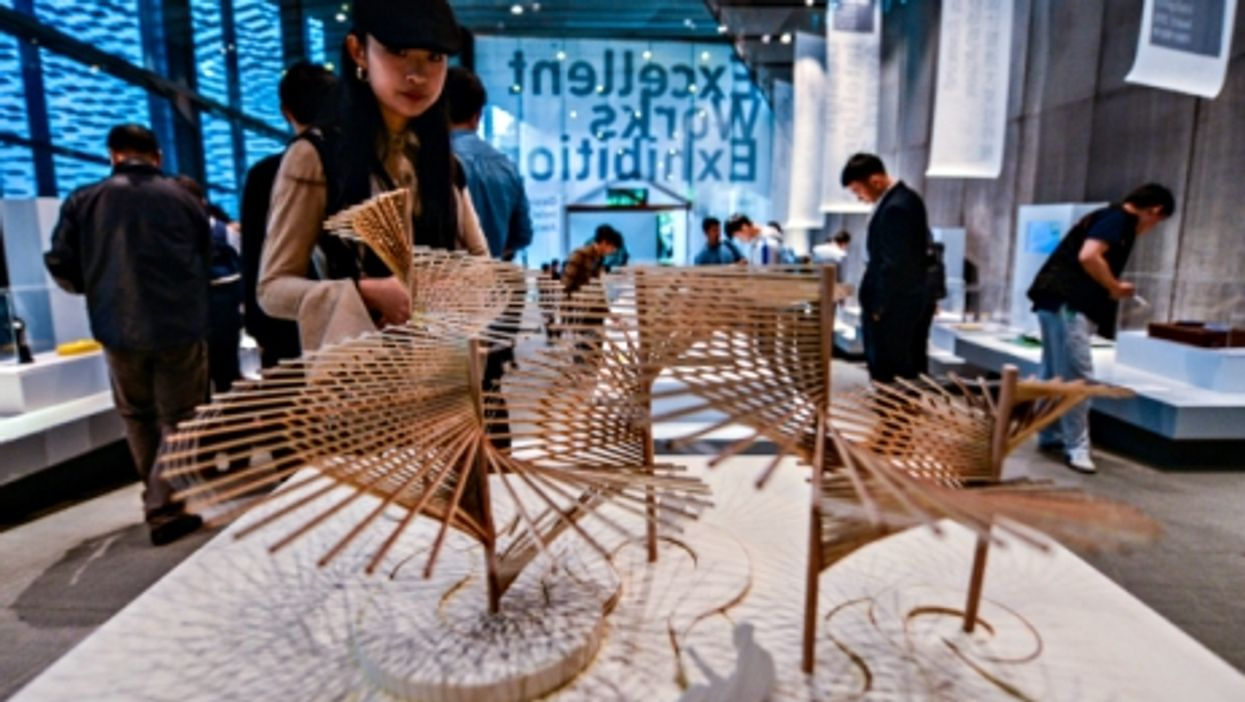 At the Design Intelligence Awards in Hangzhou on May 8