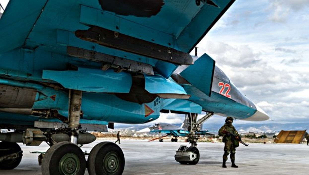 At the Khmeimim airbase