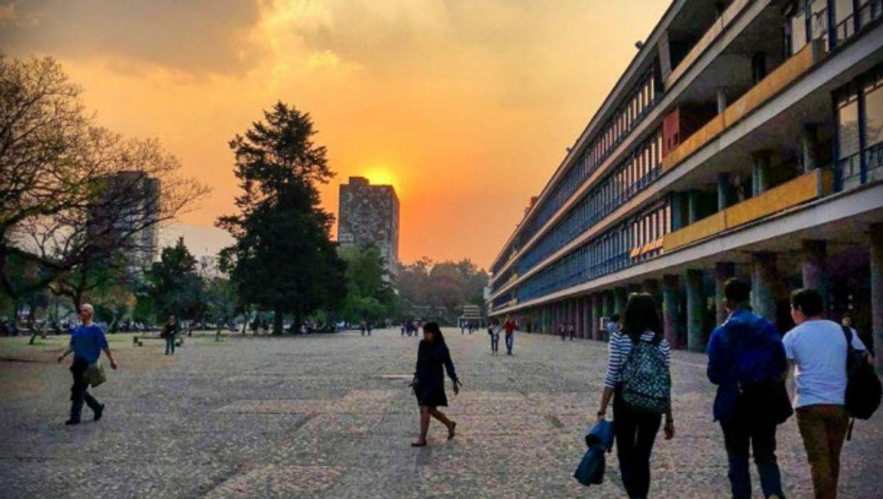 At the National Autonomous University of Mexico
