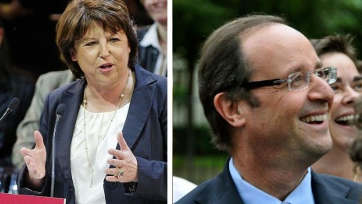 Aubry and Hollande are set to face off for the chance to challenge Sarkozy