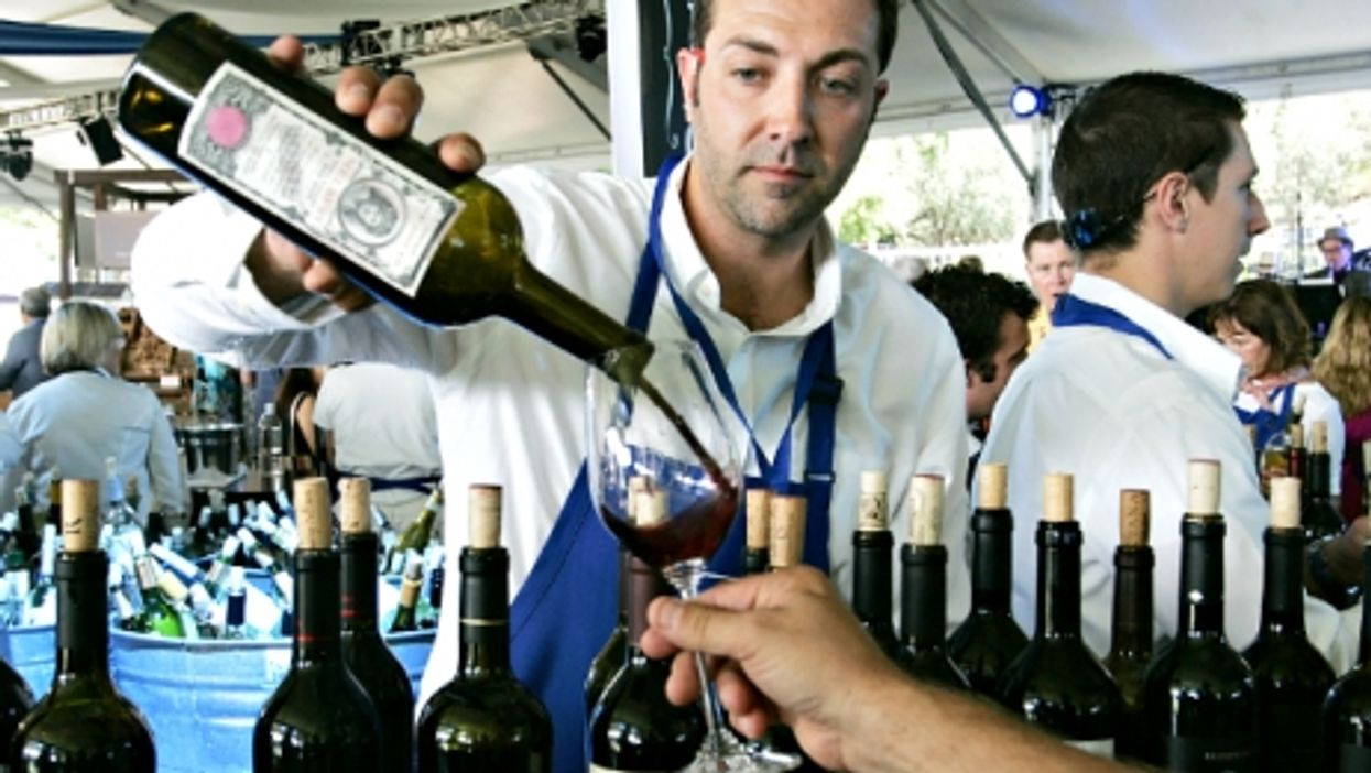 Auction Napa Valley charity wine event