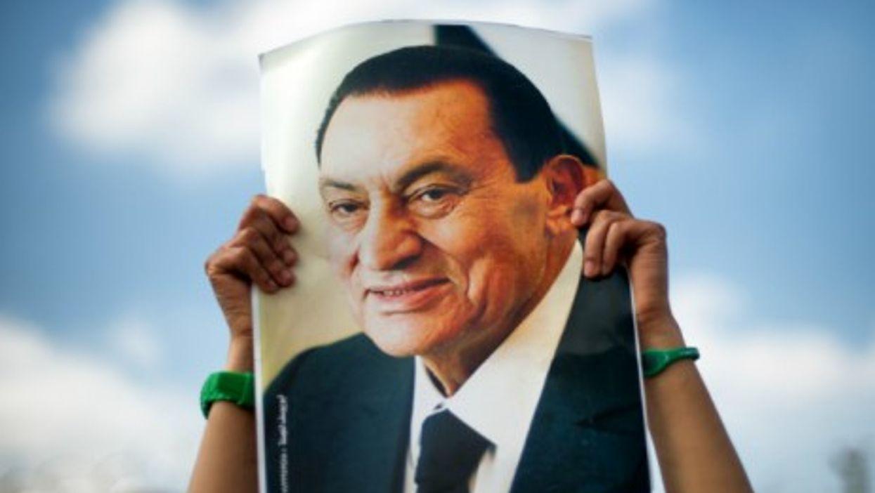 Aug. 2013 pro-Mubarak demonstration in Cairo