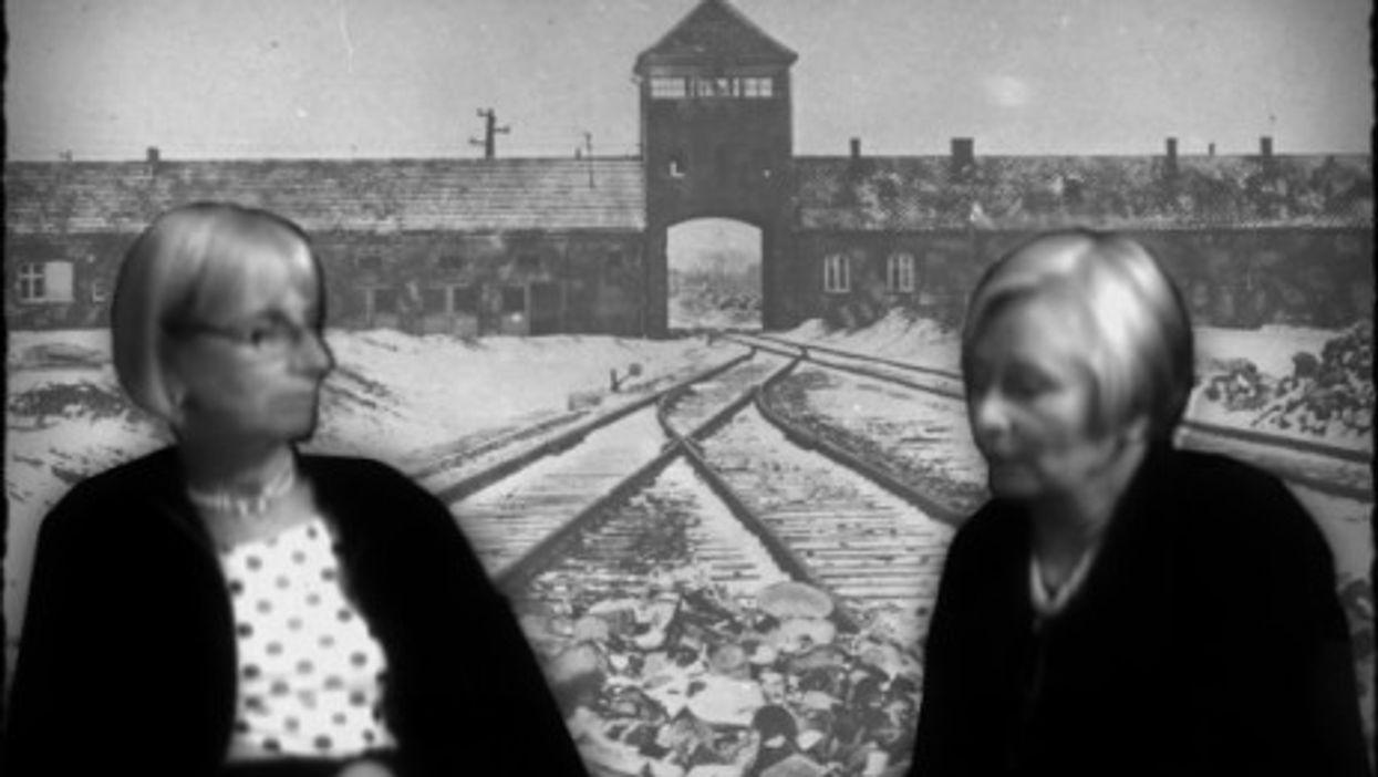 Auschwitz survivors Andra and Tatiana Bucci