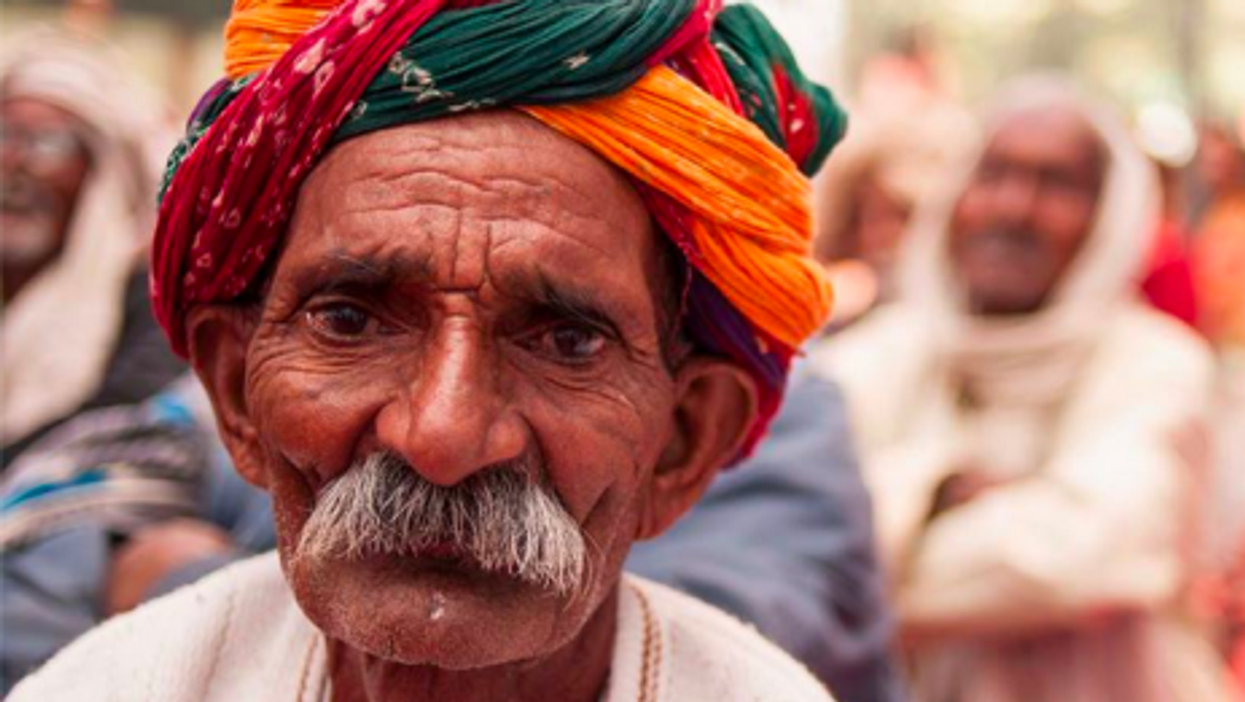 Average life expectancy in India is 65, but many live much longer
