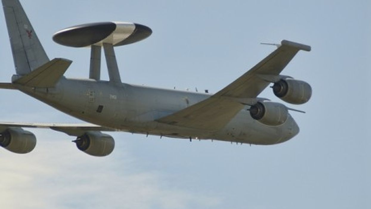 AWACS planes are used for military surveillance
