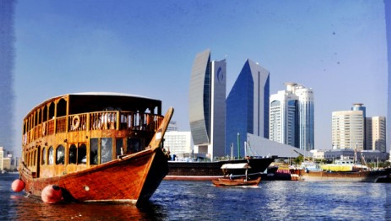 Away from Dubai's skyscrapers, shopping malls and seven-star hotels...