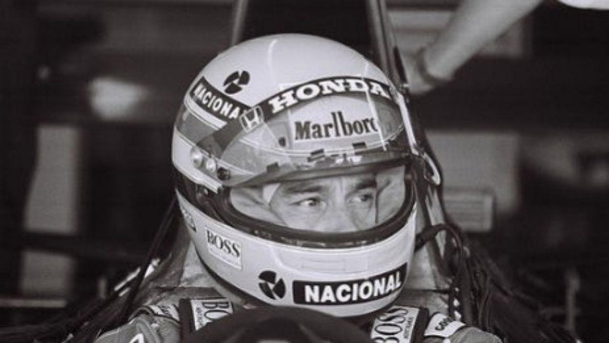 Ayrton Senna (Stu Seeger)