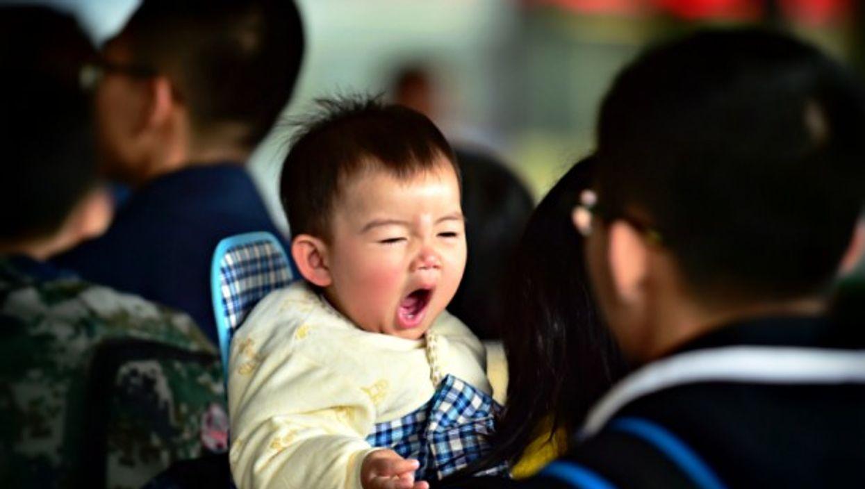 Baby in Fuzhou, China