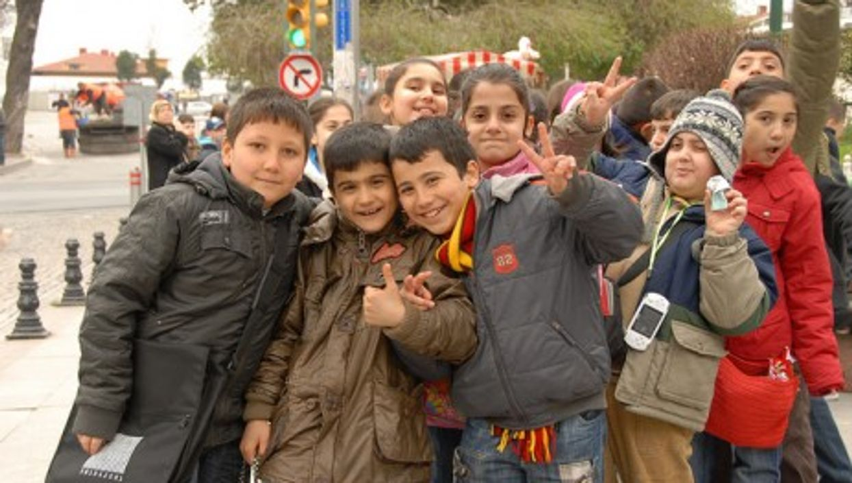 Back to school in Istanbul