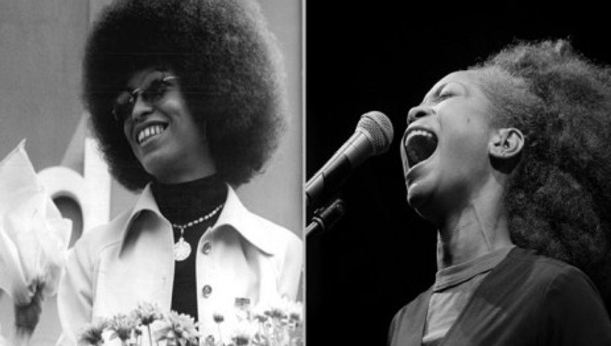 Back to your (hair) roots? From activist Angela Davis to singer Erykah Badu (Bundesarchiv/Yancho Sabev)