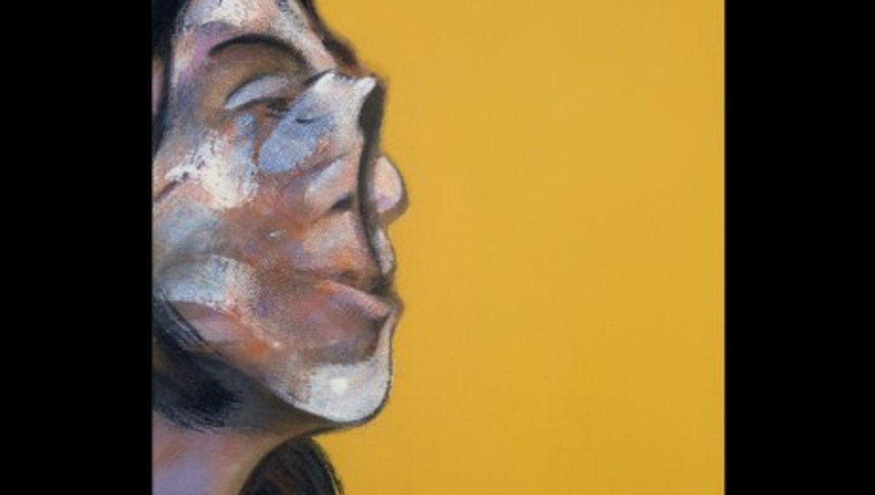 "Bacon's ""Portrait of Henrietta Moraes"", 1969, oil on canvas"