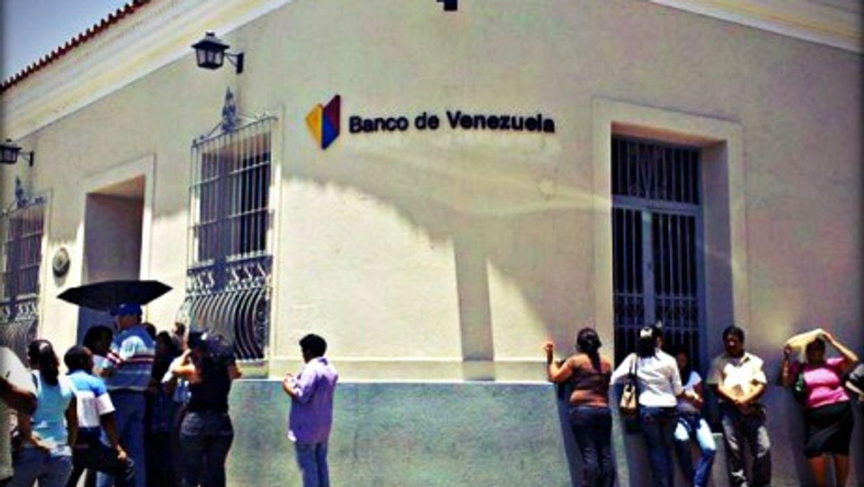 Banco de Venezuela in Santa Ana de Coro.