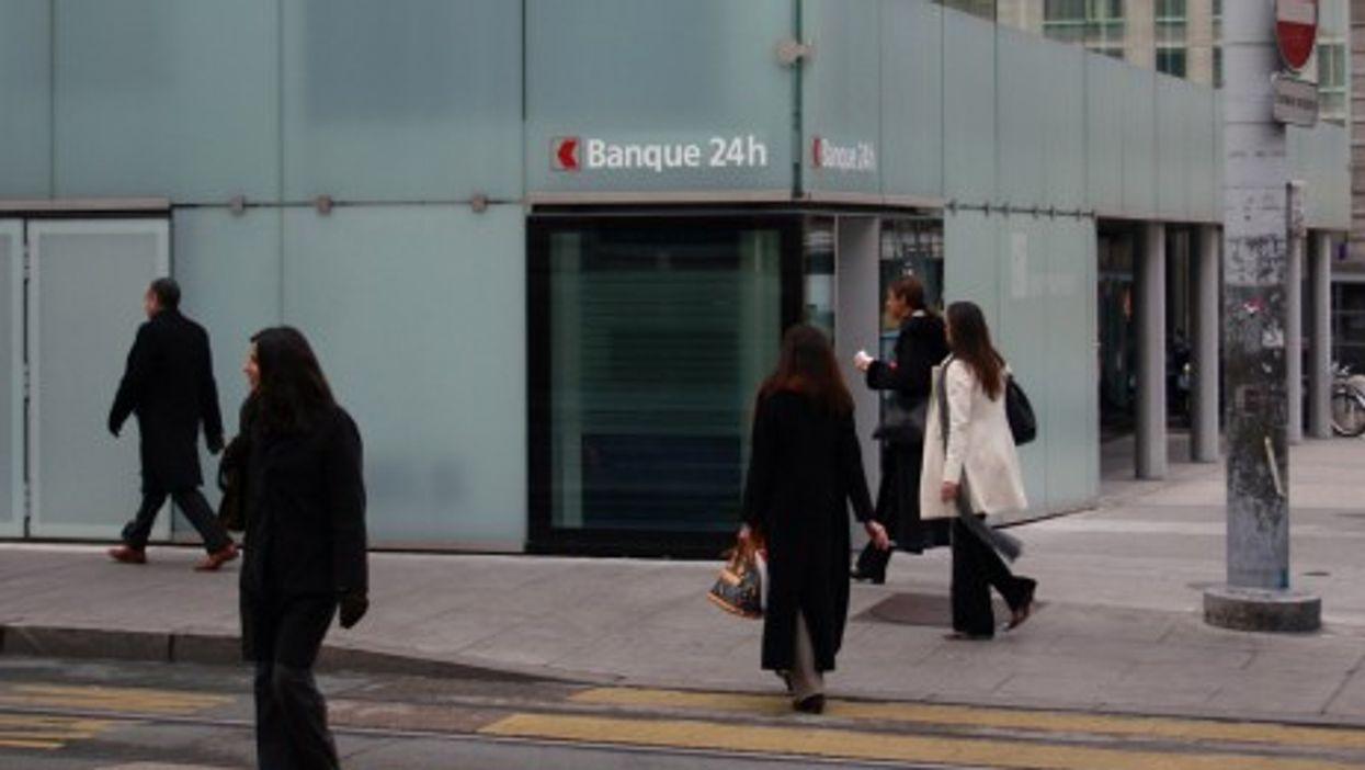 Banks are everywhere in Geneva (tillwe)