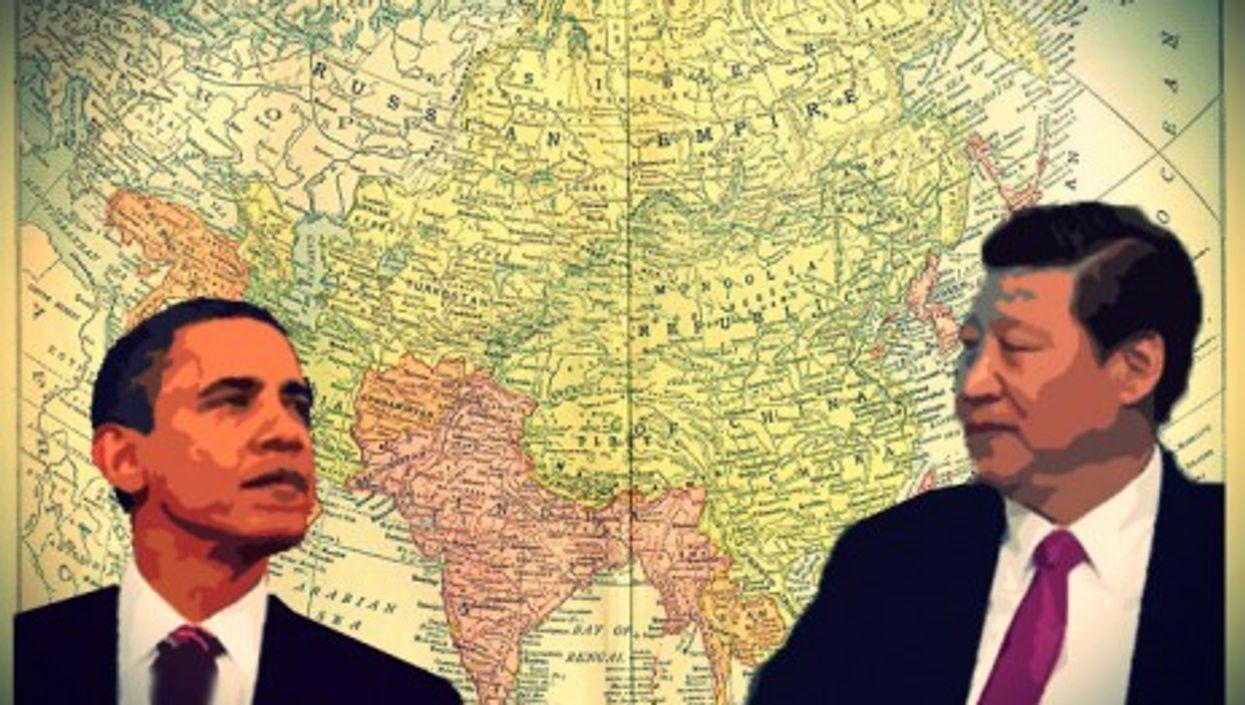 Barack Obama and Xi Jinping