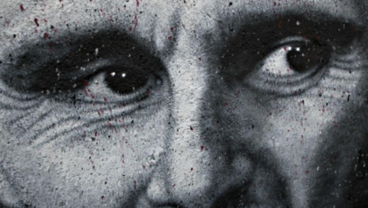 Bashar al-Assad graffiti